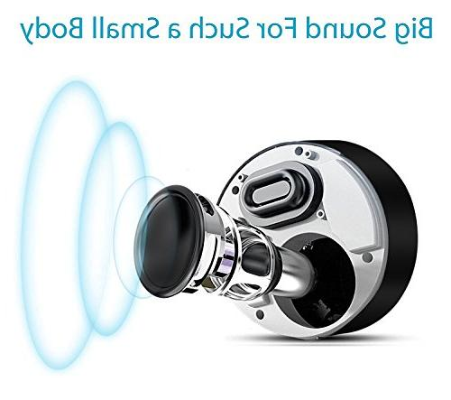 Portable Wireless Speakers with HD Playtime/Bluetooth / SD Support, dot