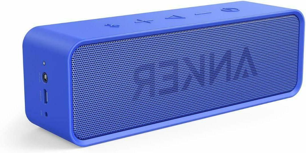 bluetooth speaker 24 hour playtime 66ft dual