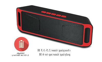 Bluetooth Extra Bass Outdoor Stereo Loudspeaker