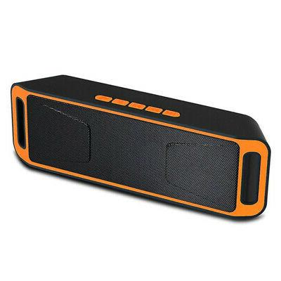 Bluetooth Speaker Bass Portable Outdoor Stereo