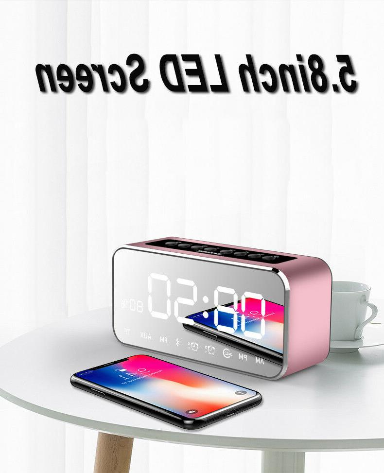 Bluetooth Touch Stereo Clock US