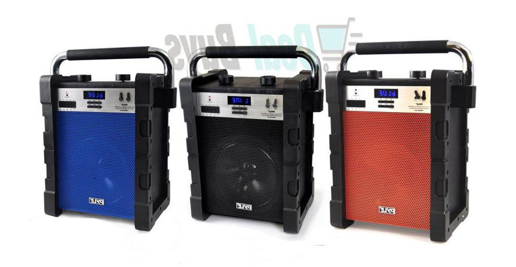 bluetooth wireless rugged and portable speaker system