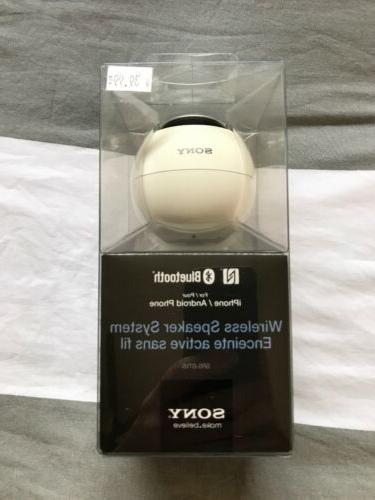 bluetooth wireless speaker system srs btv5 white