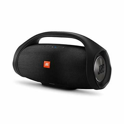 boombox portable wireless bluetooth speaker black