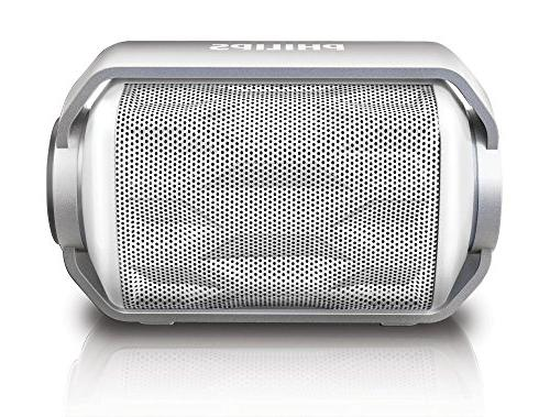 Philips BT2200W/27 Bluetooth Wireless Portable Speaker with