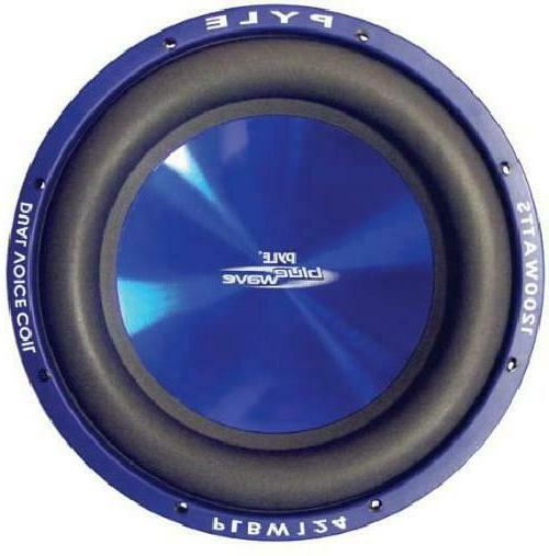 Car Vehicle Subwoofer Audio Speaker - 10 Inch Blue Injection