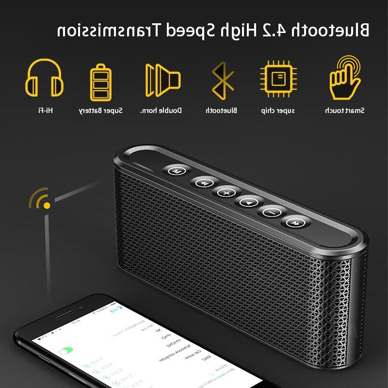 Card Subwoofer Equipment Bluetooth Portable Stereo