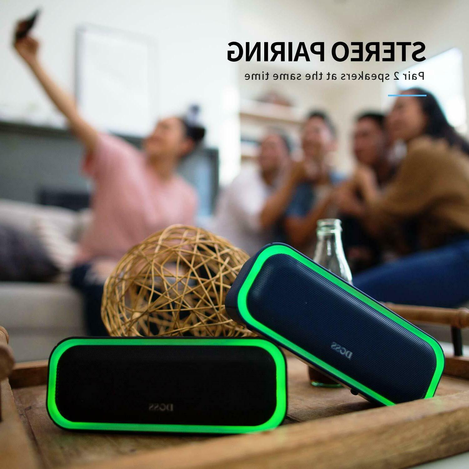 Pro Portable Wireless Bluetooth with 20W Stereo
