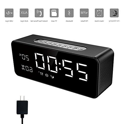 electric alarm clock wireless fm