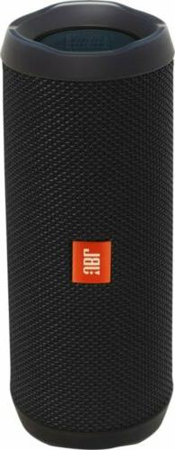 JBL Flip 4 Portable Bluetooth Speaker - Black