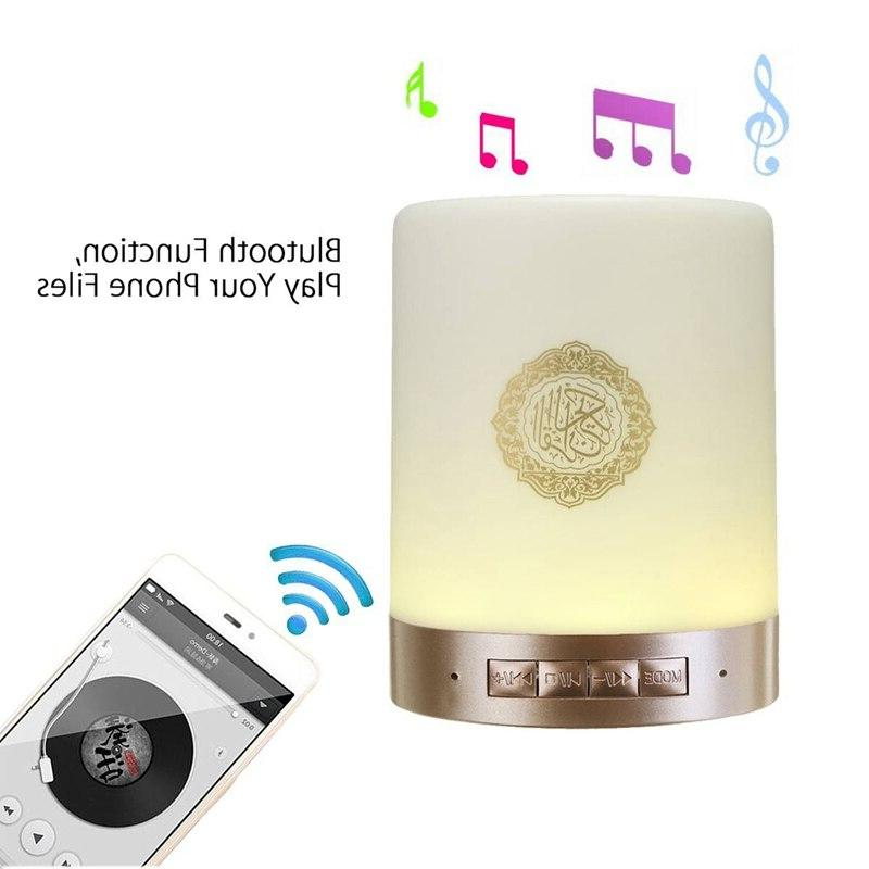 <font><b>Wireless</b></font> Bluetooth Led Quran Reciter Muslim Mp3 Tf Radio Remote Control
