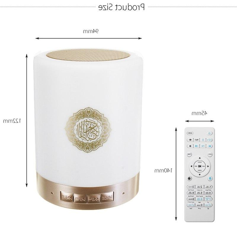 <font><b>Wireless</b></font> Bluetooth Led Quran Koran Reciter Support Mp3 Fm Card Radio Remote Control