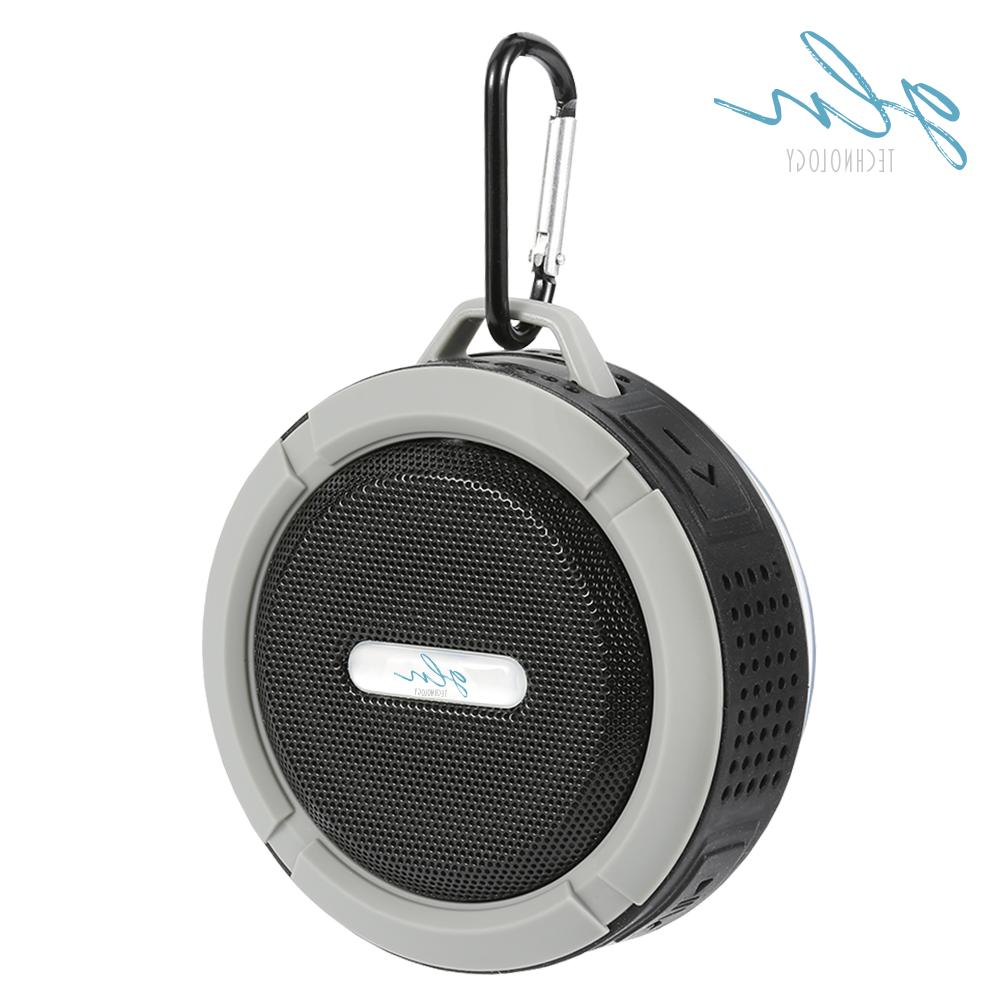 Gln Waterproof Bluetooth Speaker Portable Speaker w/Built Mic