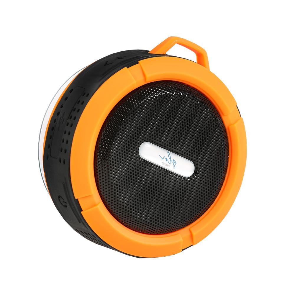 Gln Bluetooth Shower Speaker Wireless w/Built