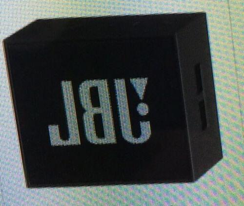 JBL Bluetooth Speaker BLACK- strap hook-NEW/SEALED