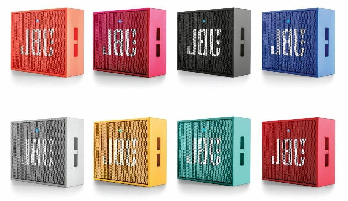 JBL GO Portable Wireless Bluetooth Speaker W/ A Built-In Str