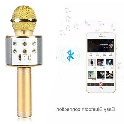 Handheld Wireless Microphone Speaker Microphone and 2 in 1