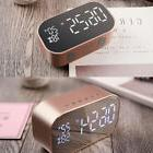 HOT Portable Wireless Bluetooth Stereo Speaker FM LED Alarm