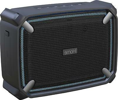 iHome - Weather Tough 4 Portable Bluetooth Speaker - Gray/Bl