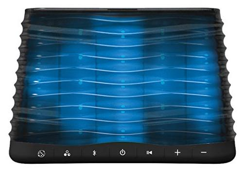 iHome Bluetooth Stereo Speaker with Disco Rear Projection Lighting