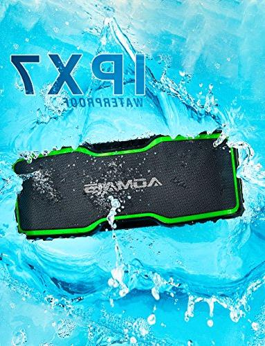 AOMAIS Sport II+ Bluetooth Speakers, with Loud Sound, Waterproof, 20 Playtime, 99ft & Built-in Mic, Home Beach,Shower
