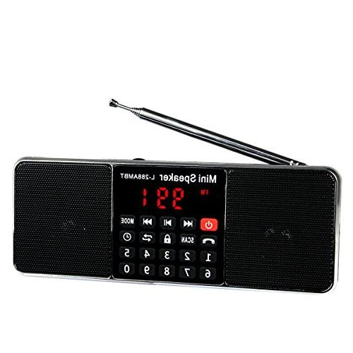 Retekess L-288 FM with Wireless MP3 AUX Input Support TF Card Timer
