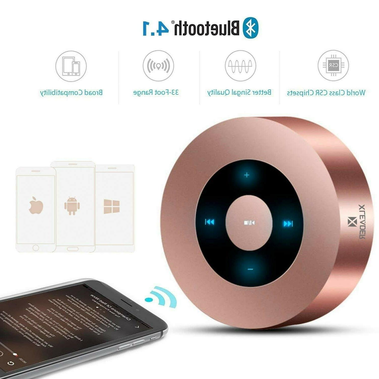 LED Mp4 Player Accessories Touch Bluetooth Speaker With HD