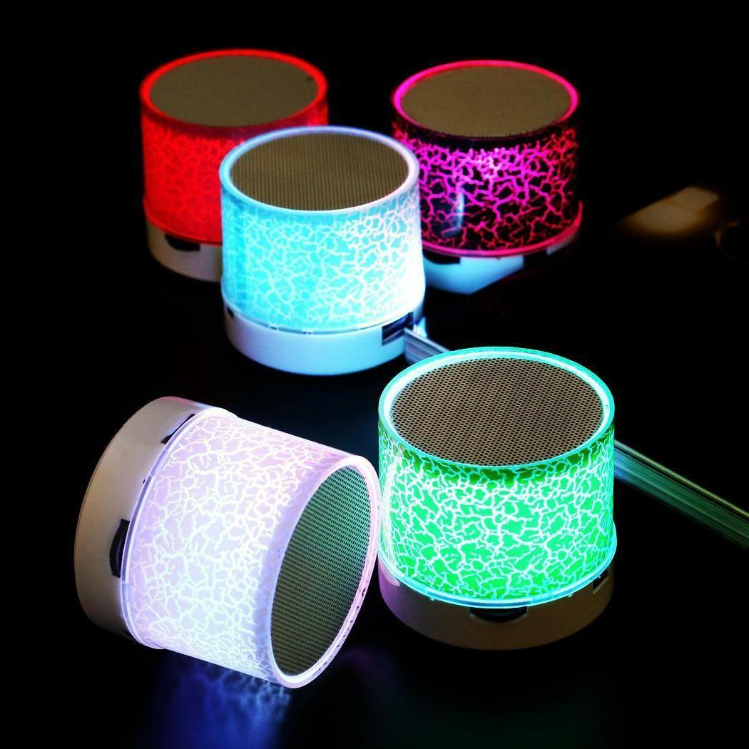LED Mini Speaker With TF USB Radio=