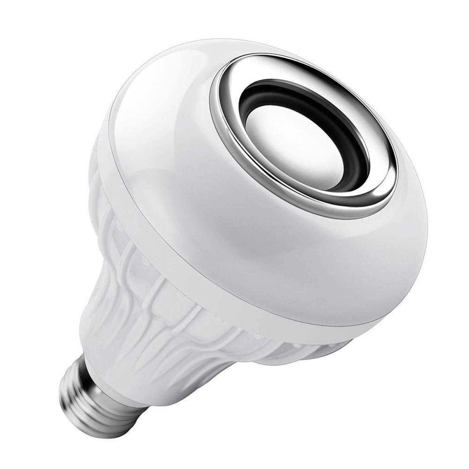 LED Wireless Light Bulb 12W Music Lamp with Remote