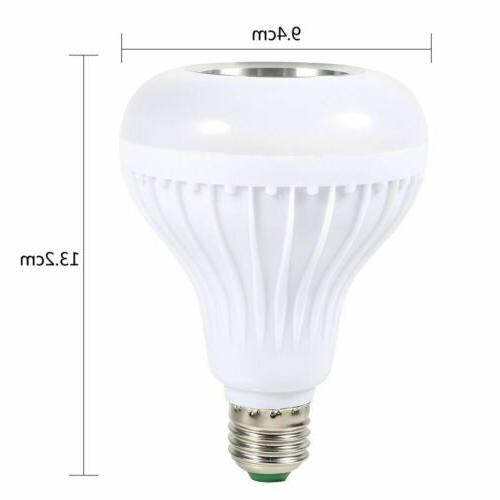 LED Bulb Color 12W Music Remote