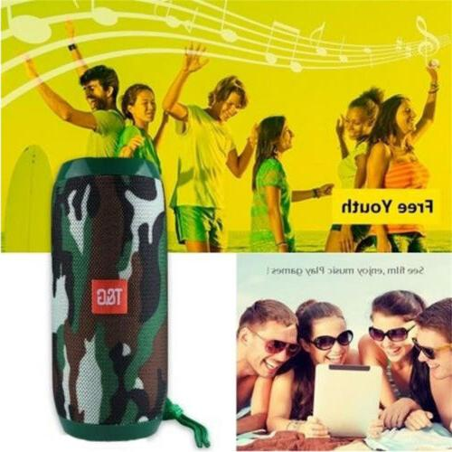 LOUD Bluetooth Waterproof Outdoor Stereo Bass USB/TF/FM