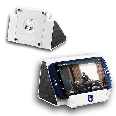 Indigi Magic iBoost Mini Speaker Stand for iOS and Android -