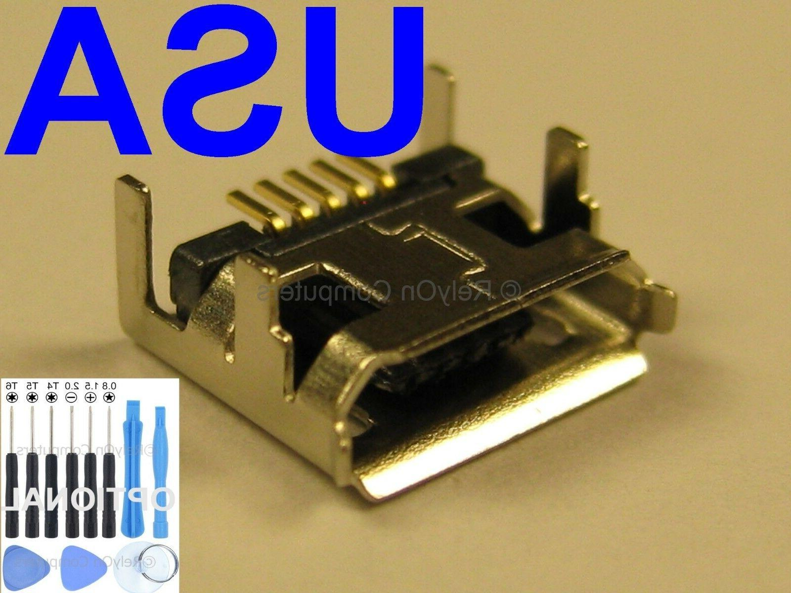 Micro USB Charging Port Charger Connector for JBL Flip 3 Blu