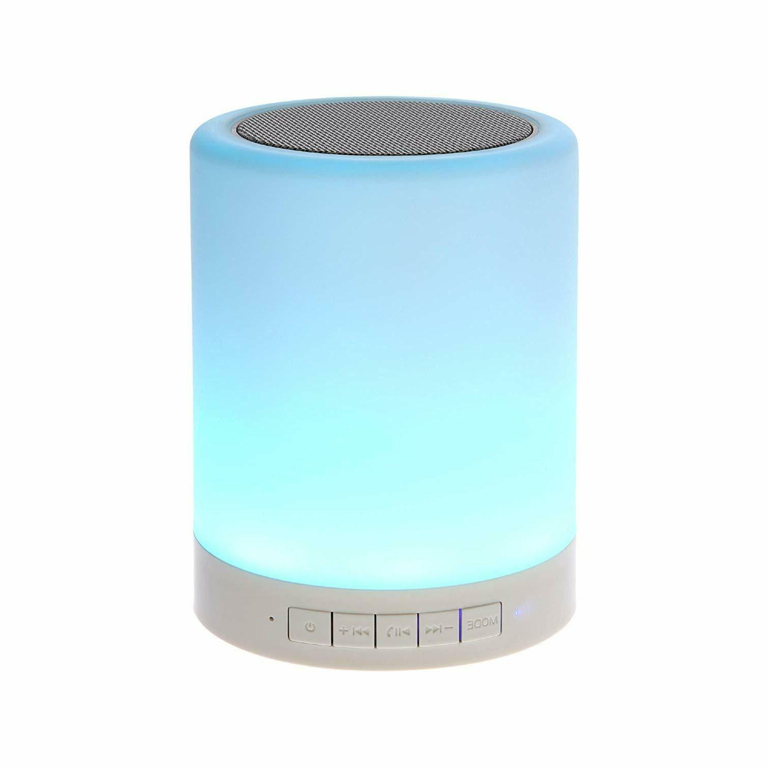 night light bluetooth speaker portable wireless bluetooth