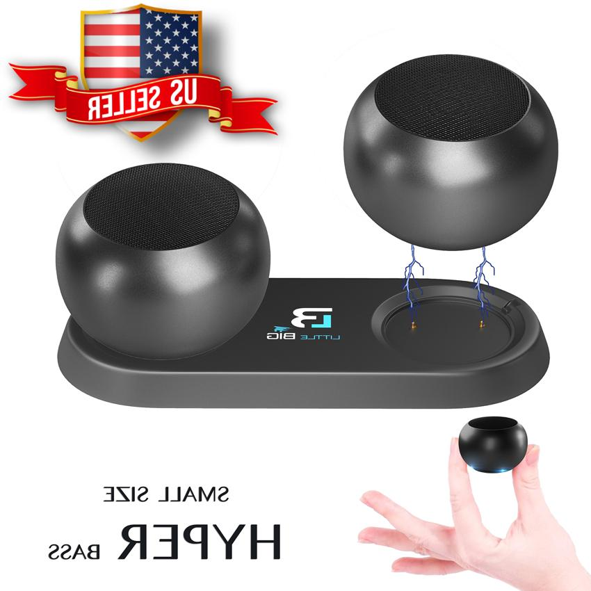 Pair Micro Bluetooth 4.2 Speakers 3W TWS True Wireless Stere