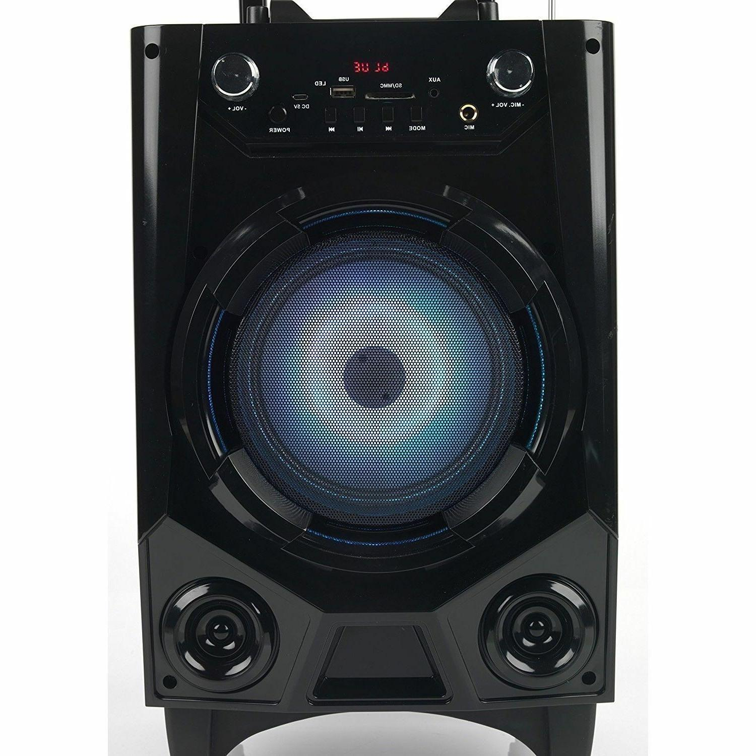 Portable Rechargeable Wireless Party Speaker Mic