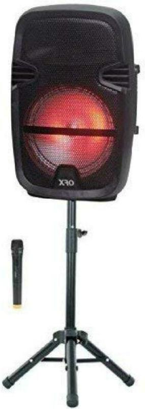 QFX PBX-61087 Portable Party Speaker with Stand and Wireless
