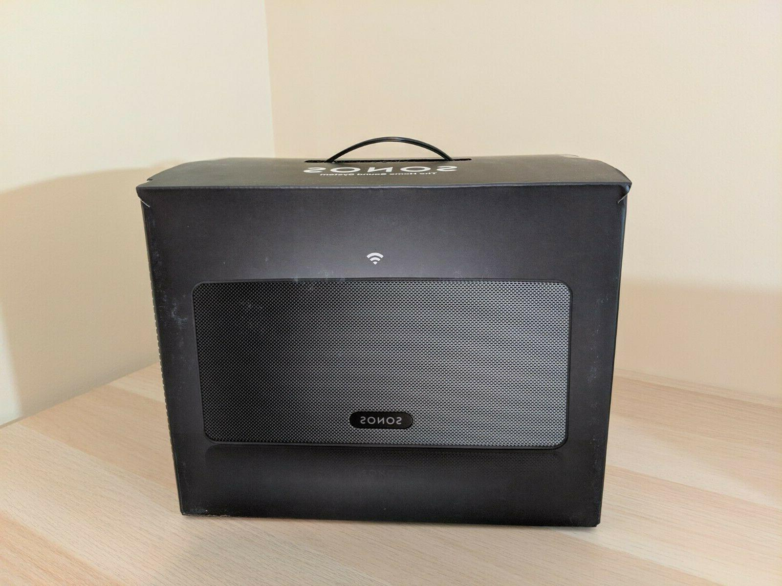 play 3 wireless speaker black brand new