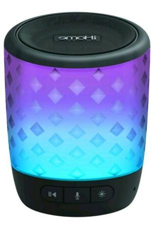 portable bluetooth speaker voice command color changing
