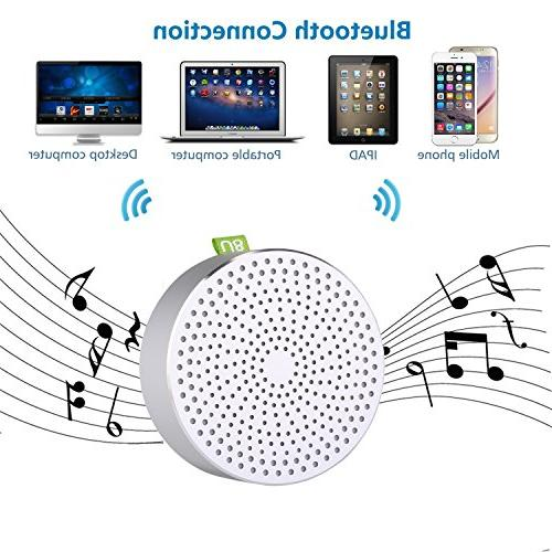 Portable Bluetooth By BOOMER Speaker Advanced Enhanced Loud and Clear Built-in Mic iPad,Nexus, Laptops, etc