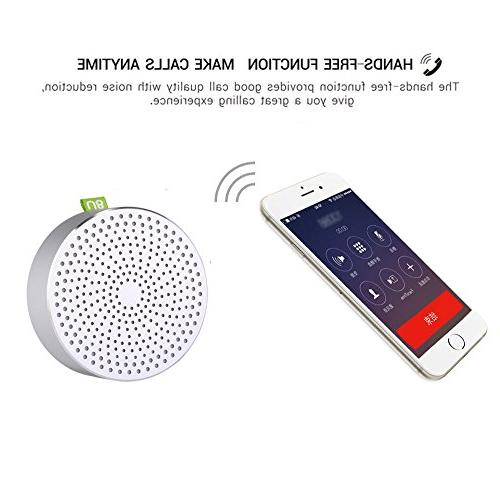Portable BOOMER Mini Speaker With Advanced Loud and Built-in Mic For iPad,Nexus,
