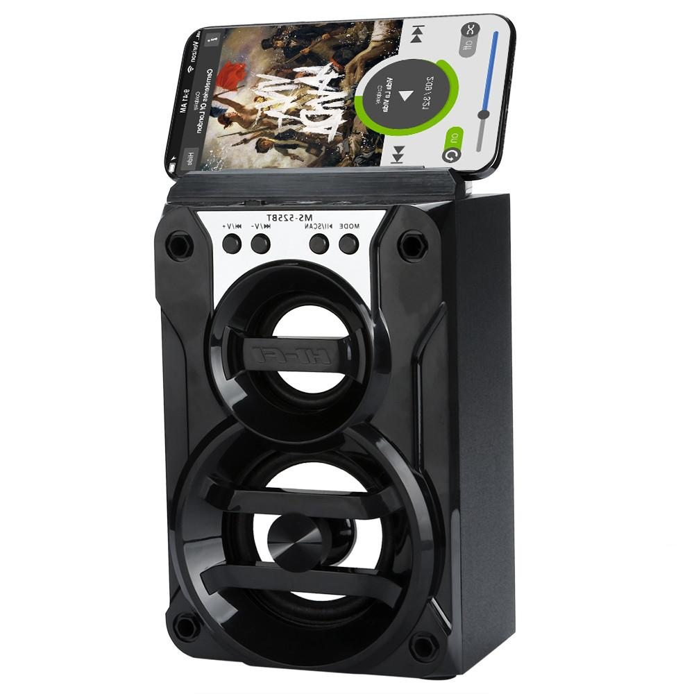 Portable Wireless Outdoor Rechargeable FM Radio/AUX/TF/USB