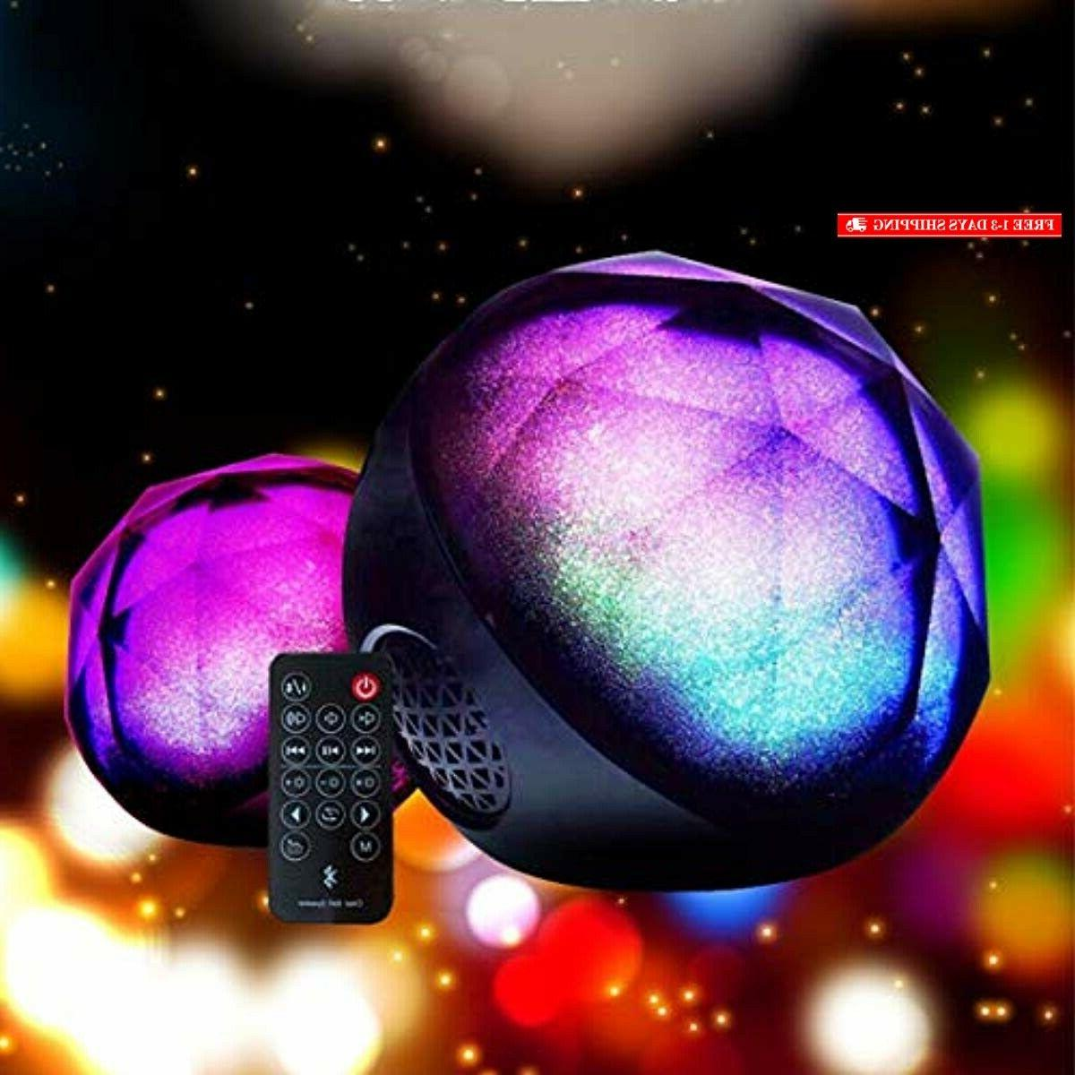 Portable Bluetooth Speakers, BOOMER VIVI Wireless Colorful Ster