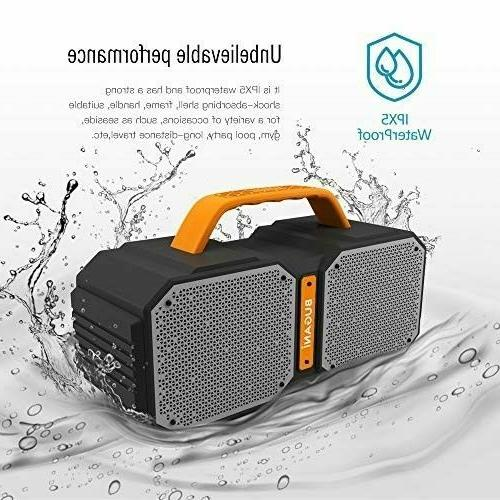 Portable Bluetooth Speakers Ture Wireless Ultra Bass