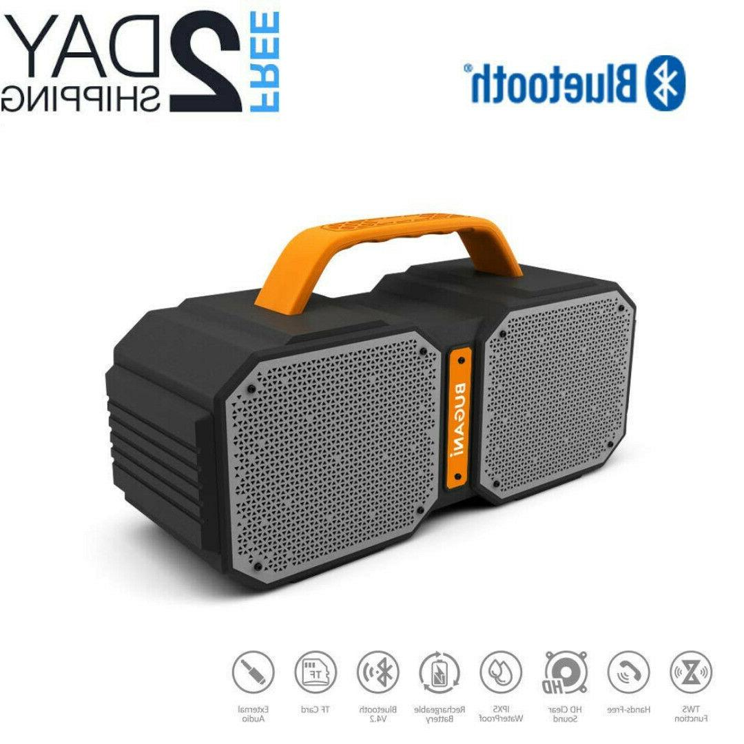 portable bluetooth speakers with ture wireless stereo