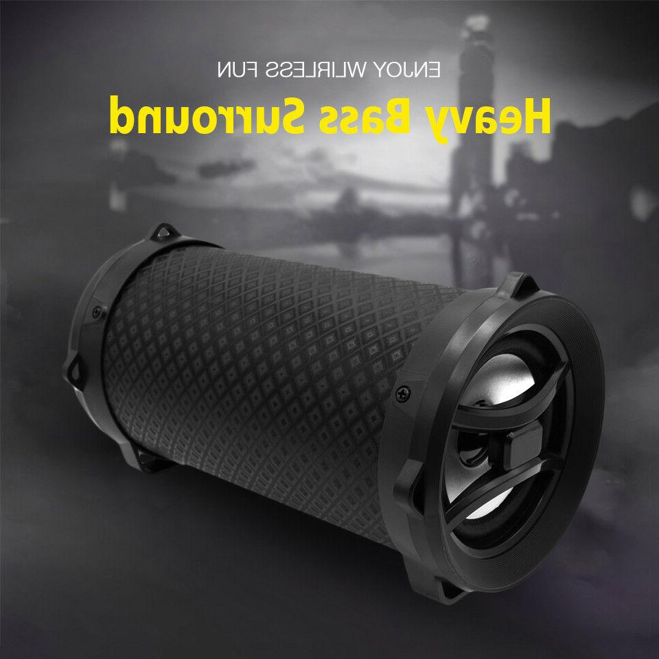 Portable Outdoor Stereo Loudspeaker With