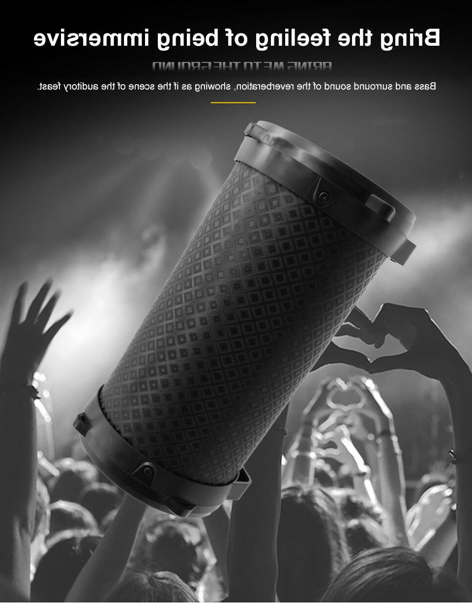Portable Bluetooth Outdoor Subwoofer Stereo Loudspeaker