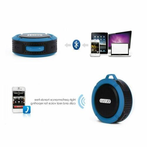 Portable Bluetooth Wireless Super Bass Mini for iPhone Samsung Tablet