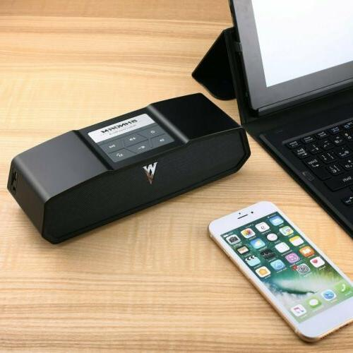 Portable Bluetooth Bass Stereo Speaker iPhone