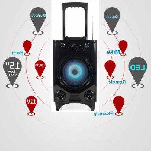Portable Party Tailgate Speaker Rechargeable